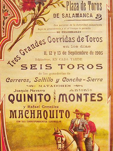 Cartel Carreros 1905