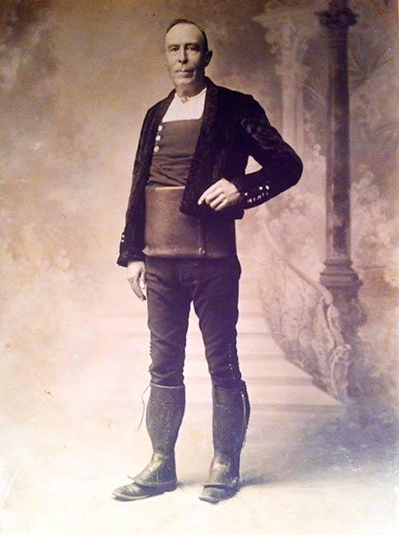 Ganadero fundador. Juan M. Sánchez. 1840