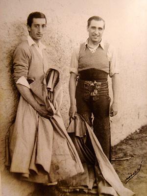 Manolete Con Juan Martin Carreros